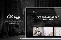 Check out Chicago - Agency&Portfolio by Maelstrom on Creative Market