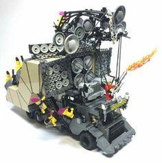 Coma-doof warrior Lego.