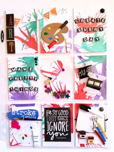 A Pocket Letter that I recently mailed out. #Pocketletters #PocketLetterPals #mixedmedia #ArtandWhimsy