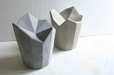 grey concrete geometrical something