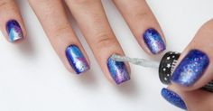 galaxy nails - how to