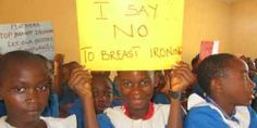 Cameroon: Breast Ironing - A crime by women against women. By Konda Delphine. Read more: http://www.asafeworldforwomen.org/children/ch-africa/c-cameroon/3802-breast-ironing-crime.html