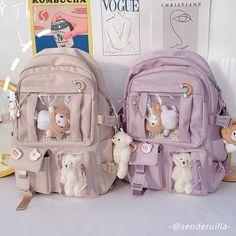 Kawaii Harajuku Japanese Style Ita Backpack - Limited Edition - KawaiiTherapy Stylish School Bags, Cute School Bags, Cute School Supplies, Cute Mini Backpacks, Stylish Backpacks, Girly Backpacks, Kawaii Bags, Kawaii Clothes, Aesthetic Bags