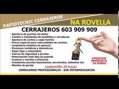 CERRAJEROS NA ROVELLA VALENCIA 603 909 909
