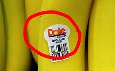 Mindenképpen nézd meg a banánon lévő címkét! Health, Food, Natural, Salud, Meal, Health Care, Essen, Hoods, Healthy
