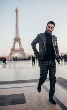 Elegant men's suit look