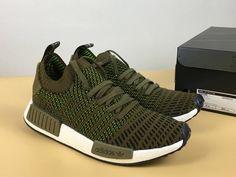 ed8f182866d9e0 2018 adidas NMD Singapore R1 Primeknit STLT Green For Sale Online – Adidas  NMD Singapore