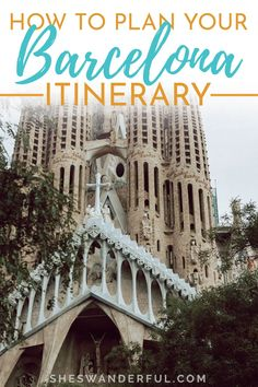 How to Plan Your Barcelona Travel Itinerary | Start planning your trip with these Barcelona, Spain travel tips and guides from experts. This post covers everything from the best time to visit Spain and Spain travel itinerary ideas and Barcelona travel tips for solo travelers. Traveling in Barcelona Spain | Barcelona Spain travel guide | Visiting Barcelona Spain | Barcelona travel guide Spain Travel Guide, Travel Tips For Europe, Travel Around Europe, Italy Travel Tips, European Road Trip, Road Trip Europe, France Travel, Germany Travel, Barcelona Spain Travel