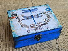 Personalized Box. Wooden jewelry boxelegant por ArtDidi en Etsy