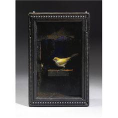 Artwork by Joseph Cornell, Untitled (Yellow Bird Habitat), Made of illuminated box construction Collages, Collage Artists, Joseph Cornell Boxes, Shadow Box Art, Found Art, Assemblage Art, Altered Art, Cool Art, Sculptures