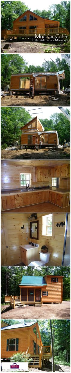 Modular Cabin in the Adirondacks by Wood-Tex Products (Nationwide Delivery!)