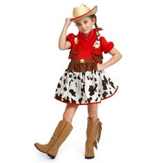 Star Cowgirl Costume - By Dress Up America d2d4144f5a5