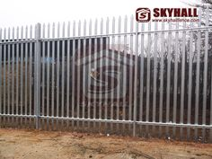 With the developing of the global economy, people using more and more steel palisade garden fencing in their life. It is a high security fencing system. Mesh Fencing, Garden Fencing, Metal Fence, Wire Fence, Mount Pleasant, Entrance Gates, Steel, Garden Fences, Chain Link Fence