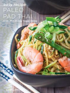 Paleo Pad Thai from The 21-Day Sugar Detox | Diane Sanfilippo