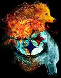 Steelers wolves