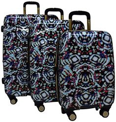 Aimee Kestenberg Malibu 3 Piece Spinner Luggage Set 28 24 and 20 Tie Dye ** This is an Amazon Affiliate link. You can get more details by clicking on the image.