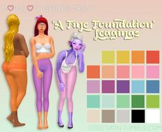 A Fine Foundation Leggings by dtron at SimsWorkshop via Sims 4 Updates Check more at http://sims4updates.net/accessories/a-fine-foundation-leggings-by-dtron-at-simsworkshop/