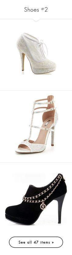 """Shoes #2"" by brooklyncarter21 on Polyvore featuring shoes, pumps, heels, dresses, white, platform bridal shoes, platform pumps, white high heel pumps, white bridal shoes and white high heel shoes"
