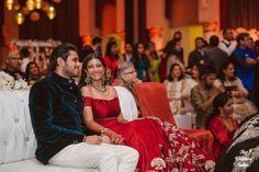 Photographer - Simply Ethereal! Photos, Hindu Culture, Black Color, Bridal Makeup, Groom Sherwani, Designer Groom Wear pictures, images, vendor credits - The Wedding Salad, Manish Malhotra, Arpita Mehta, WeddingPlz