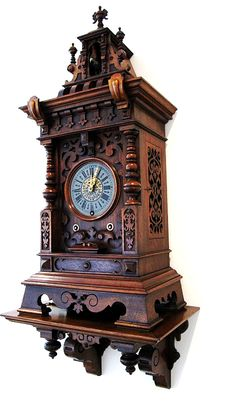Antique Black Forest Clock Members Page Plywood Furniture, Rustic Furniture, Deco Furniture, Old Clocks, Antique Clocks, George Nelson, Eames, Mirrored Picture Frames, Clock Repair