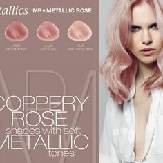 Image result for alfaparf metallic rose gold