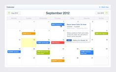 #design #web #webdesign #website #site #online #www #graphic #element #elements #ui #calendar #clean #style