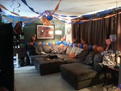 Super Bowl party?