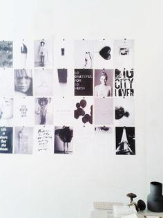 magazine wall deco