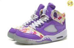 Cheap Cherry Blossom AIR JORDAN V RETRO Purple
