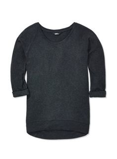 TNA DEL MAR T-SHIRT - A super-soft ribbed tee with slouchy sweatshirt styling