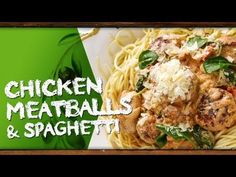 How to cook Chicken Meatballs & Spaghetti with Kim McCosker Chicken Meatballs, Spaghetti And Meatballs, Recipe Videos, Food Videos, Fresh Recipe, How To Cook Chicken, Meal Planning, Healthy Recipes, Meals