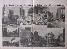 Coleccionismo de Revistas y Periódicos: LA VANGUARDIA - AÑO 1936 -GUERRA CIVIL- LA BARBARA DESTRUCCION DE GUERNICA, LA RECONQUISTA EN MADRID - Foto 2 - 56932031
