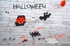 Bügelperlen-Halloween