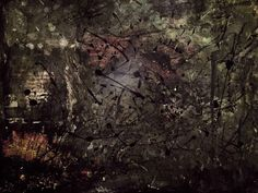 """Ashtray Nihilism"" - Acrylic/Oil Pastel - 24x18"