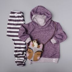 hoodie: fawn kids clothing ... leggings: fawn kids clothing ... purse: willow and fig leather co... hedgehog: frill and fluff