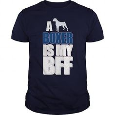 Cool A Boxer Is My Best Friend T-Shirts