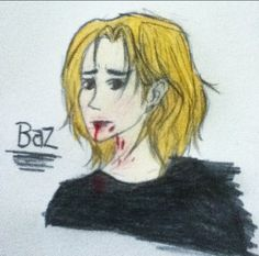 An attempt to draw Baz from Fangirl!! Yes, I know he's supposed to have dark hair haha