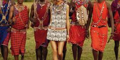 Olivia Palermo And The Maasai Project