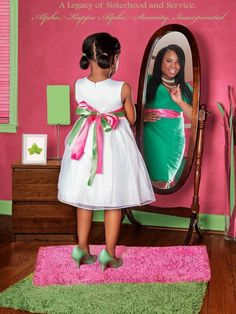 A Legacy of Sisterhood and Service ~~Alpha Kappa Alpha Sorority, Inc.