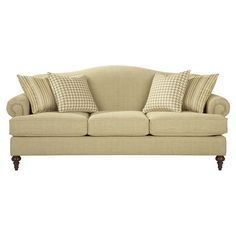 Bassett Jefferson Sofa available at Hickory Park Furniture Galleries Parks Furniture, Living Room Furniture, Home Furniture, Hickory Furniture, Furniture Ideas, Living Room Sets, Living Room Designs, Custom Couches, Traditional Sofa