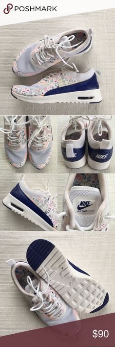 Women's Nike Air Max Thea Print Shoes Women's Nike Air Max Thea Print Shoes Style/Color: 599408-104  • Women's size 7  • NEW in box (no lid) • No trades •100% authentic Nike Shoes Sneakers