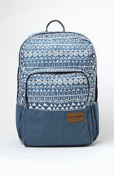 A PacSun.com Online Exclusive!PacSun presents a simple Dakine backpack covered in a black textured design. A lined light blue inside has a pouch for your laptop that's super padded. There's another outside compartment that'll keep you organized with open pouches and pen holders. The back sticks with the simple theme of solid coloring and more stitching with covered, adjustable straps.   Black backpack Dakine patch sewn on back Large main compartment with laptop sle...