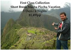This First Class Machu Picchu Vacation begins upon arrival to Cusco where you will stay in the Superior 4* Casa Andina Private Collection Hotel and visit the Inca and Colonial Highlights in and around Cusco and the Sacred Valley of the Inca in Private Service.