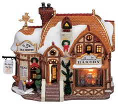 Devaney's Bakery Lemax Christmas Village