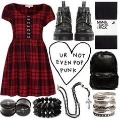 """""""not much pop punk on you"""" by annybarros on Polyvore"""