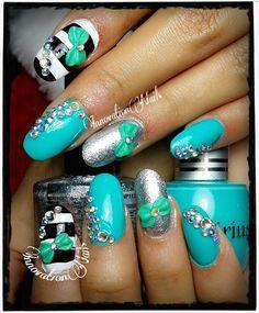 Fancy round nails