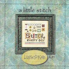 Lizzie Kate A Little Stitch K95 Counted Cross Stitch Chart