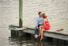 engagement pictures on a dock - Bing Images