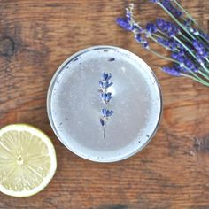 Lavender and gin
