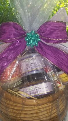 Gift basket for hat contest winner at A Spring Affair by Konadu Body Care on 5.2.15. #naturalskincare #lavender #lemongrass #greentea #cherryalmond #konadubodycarelaunch #konadubodycarebynature